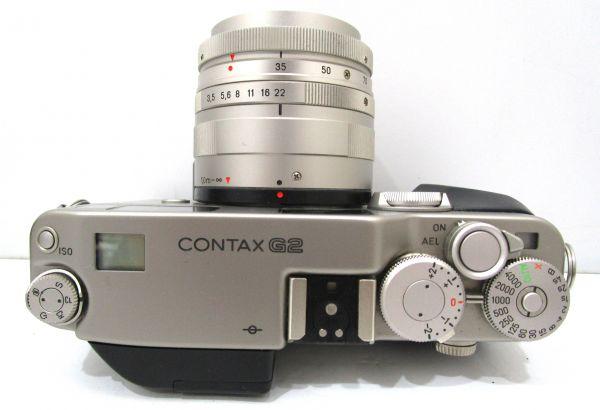CONTAX コンタックス G2 Carl Zeiss Vario-Sonnar 35-70mm F3.5-5.6 T* カメラ1点 レンズ1点 専用ケース付 1YET-079AZ_画像4