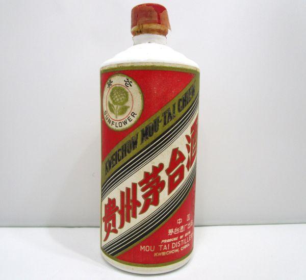 1,000円~ 貴州茅台酒 マオタイ サンフラワー 53度 500ml 約1020g 1TFT-015AB