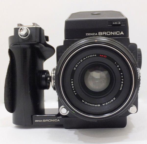 ZENZA BRONICA ゼンザブロニカ ETR-C ZENZANON MC 75mm F2.8 付属品有 1TFT-009AZ_画像2