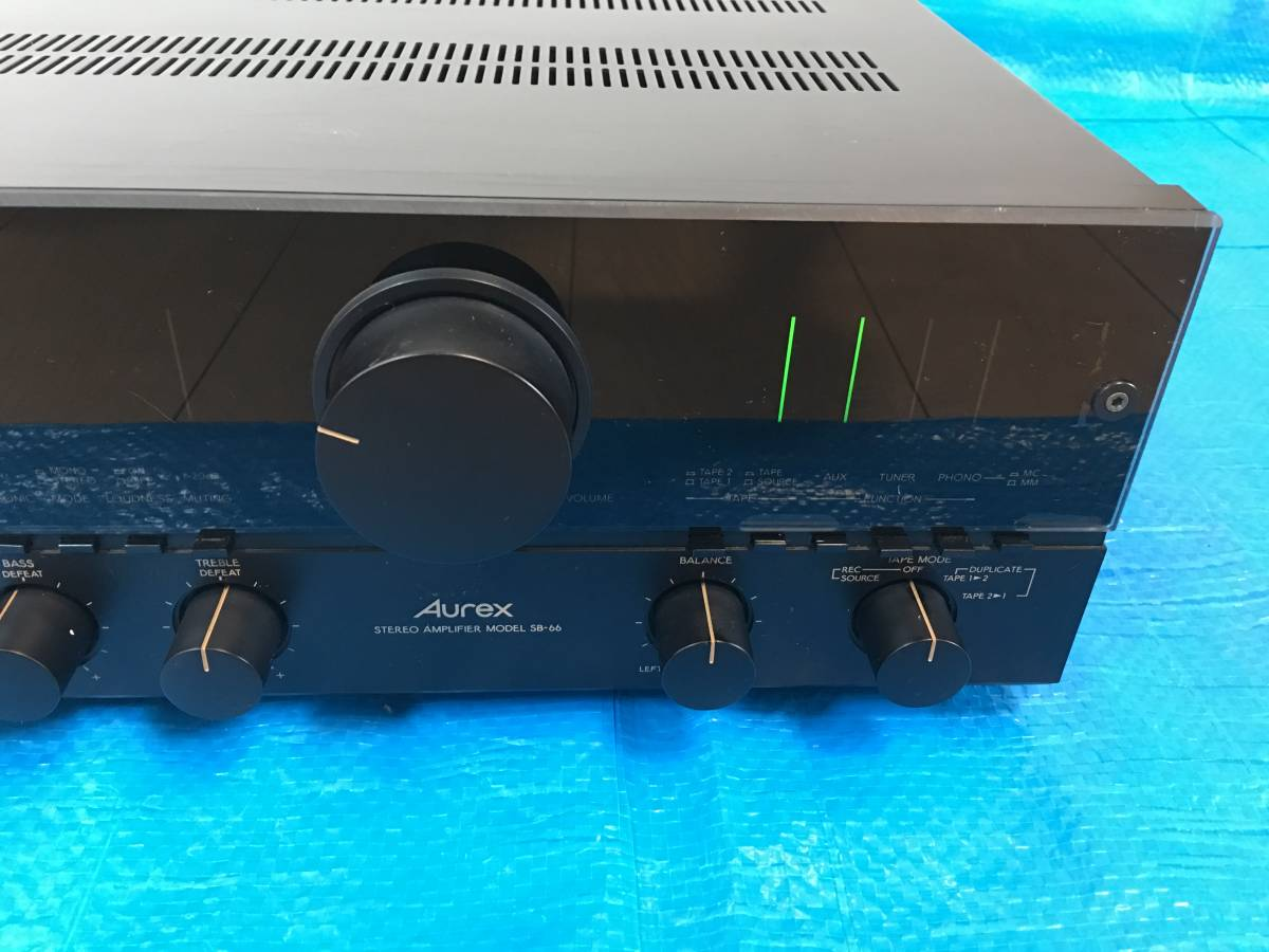 Toshiba Aurex Sb 66 Amplifier Used Operation Real Yahoo Auction Stereo Everything Is Duplicated With The Possible
