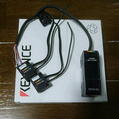 キーエンス KEYENCE CZ-H35S CZ-V21 デジタルカラー判別センサー 新品 中古 セット