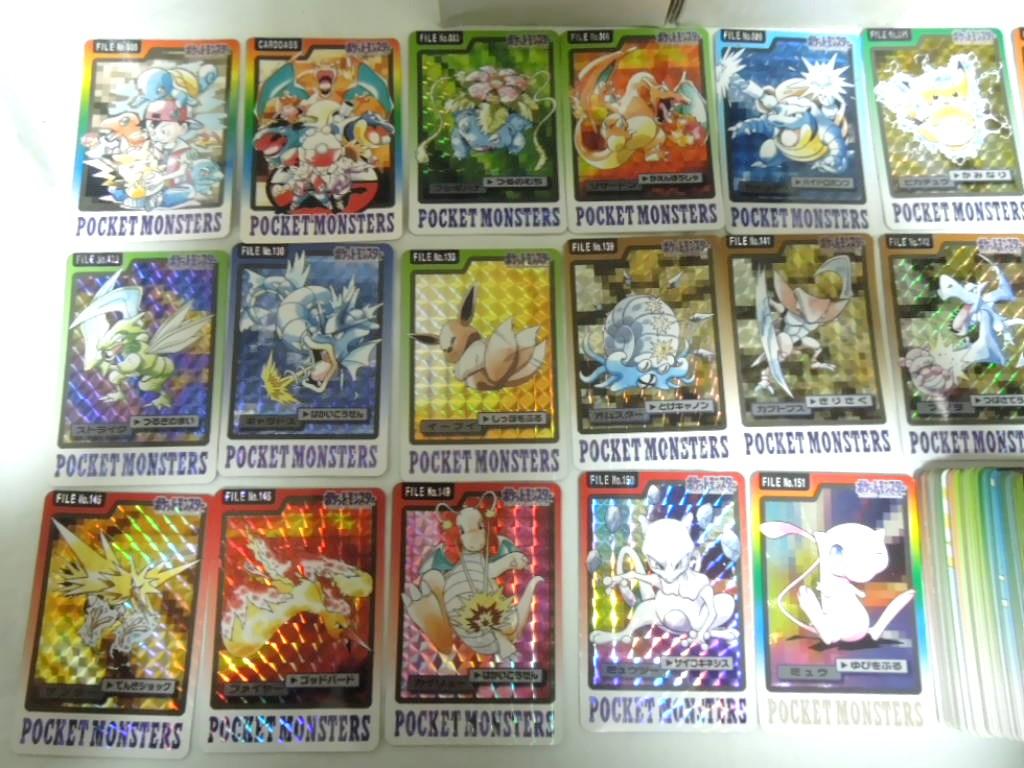 ポケモン カードダス 全153種 フルコンプ SPECIAL/FILE No.000付き_画像2
