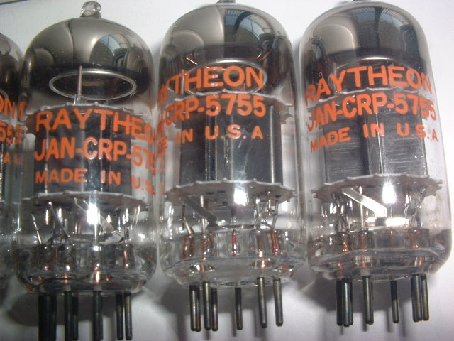 RAYTHEON5755を8本(長期保管品にてジャンク扱い)_画像4