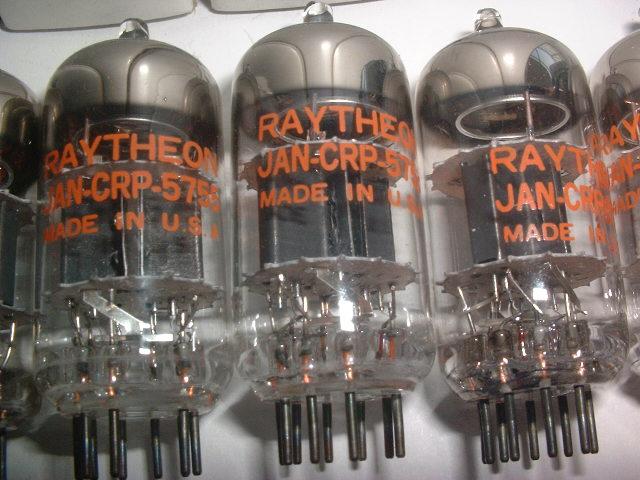 RAYTHEON5755を8本(長期保管品にてジャンク扱い)_画像3