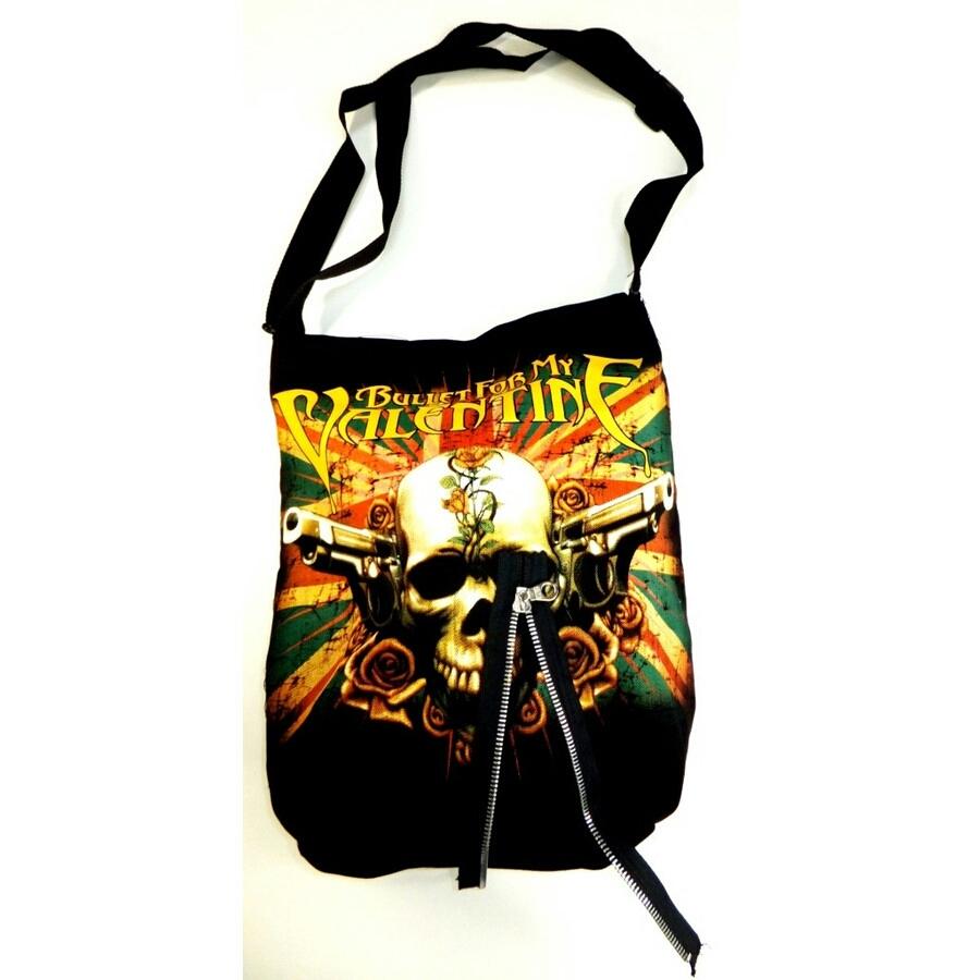 ブレット・フォー・マイ・ヴァレンタイン  / BULLET FOR MY VALENTINE MUSIC ショルダー バッグ トート 鞄  メタル
