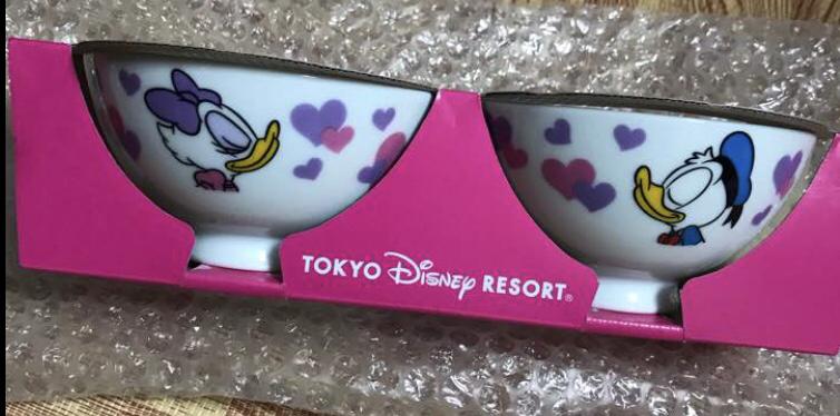 東京ディズニーリゾート ドナルドダック デイジーダック 茶碗セット