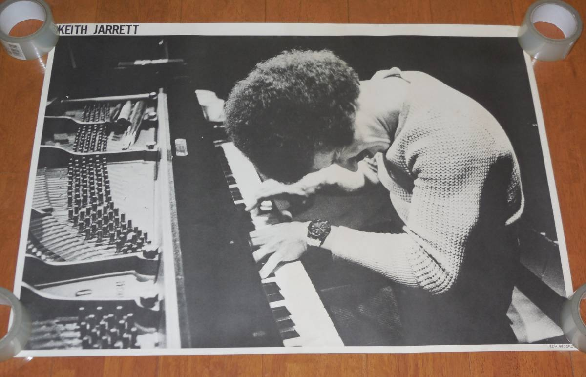 1163/KEITH JARRETT キース・ジャレット ポスター/ECM RECORDS/A1サイズ