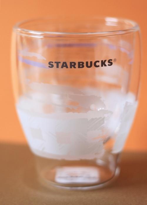 スターバックス福袋2018 ウィンターダブルウォールグラスチェック(296ml) 耐熱グラス 新品未使用 非売品