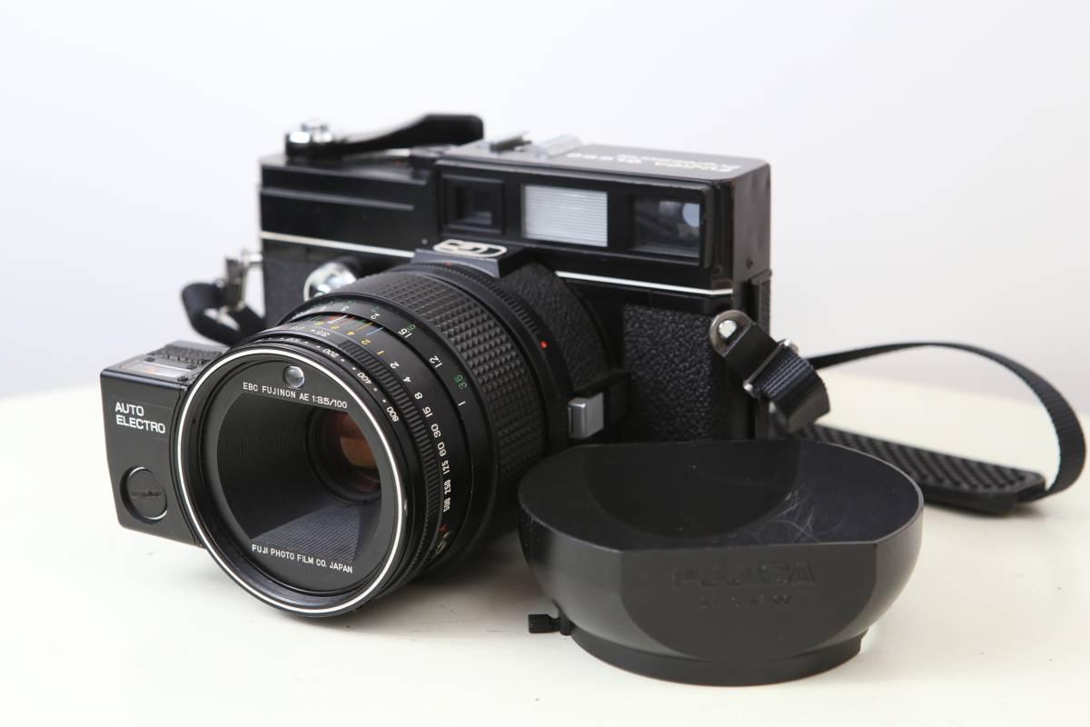 ① FUJICA フジカ GL690 Professional + FUJINON AE 100mm / f3.5 動作良品!