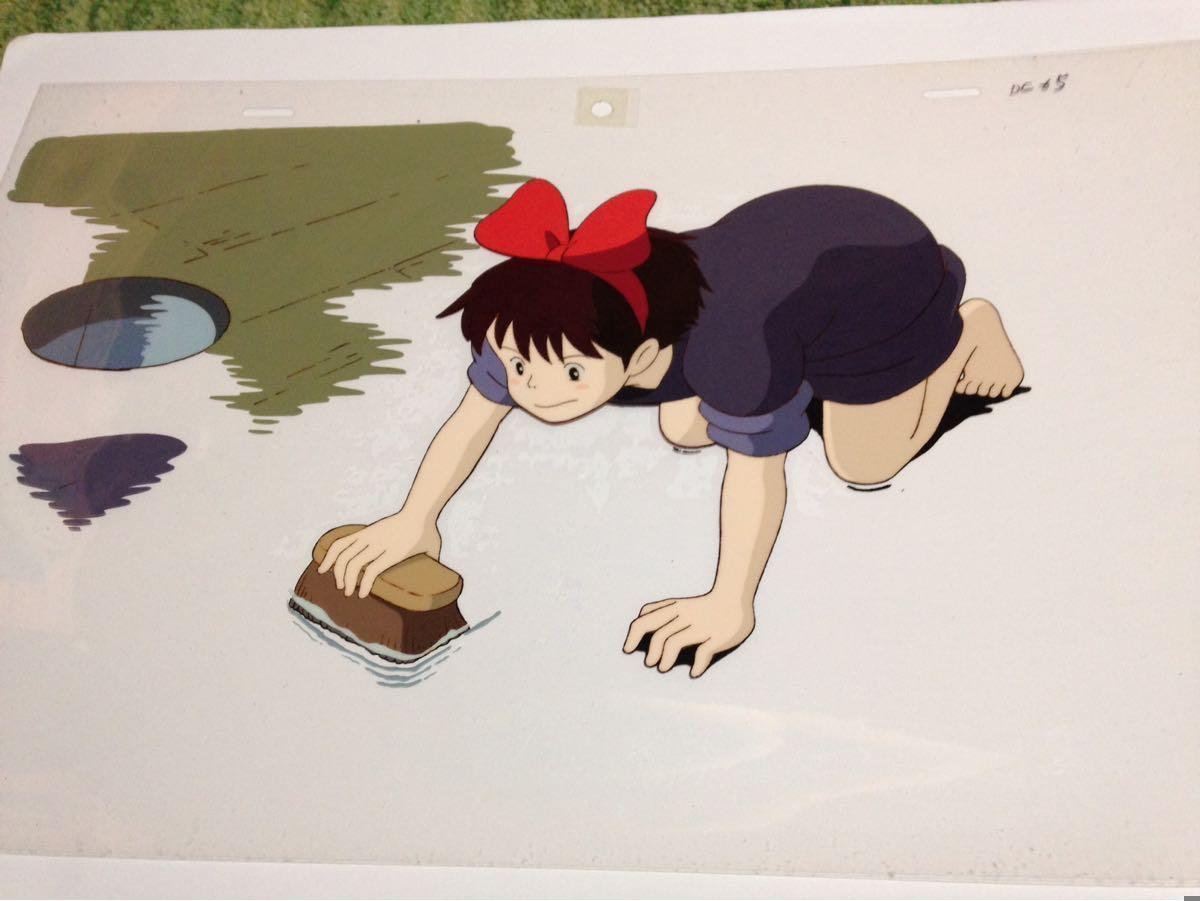 スタジオジブリ【魔女の宅急便】キキのセル画 宮崎駿作品_画像3