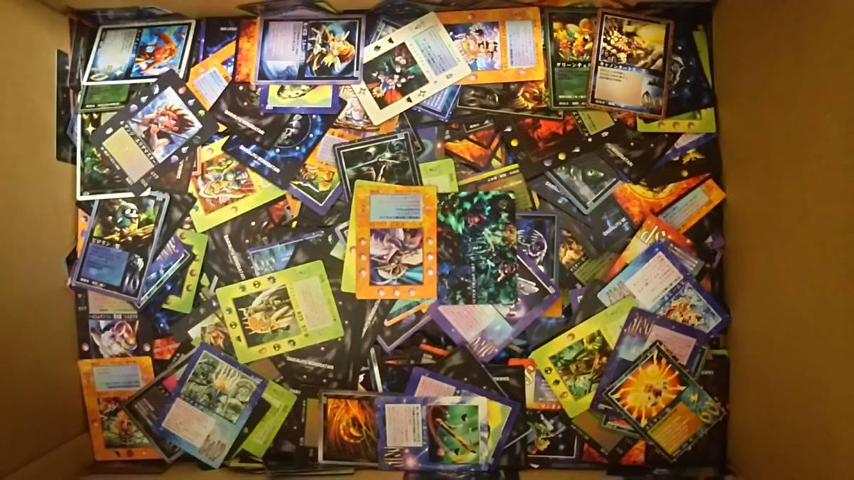 MOZ 大貝獣物語 ザ ミラクル オブ ザ ゾーン カードセット 約7.5kg_画像3