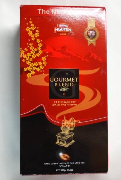 即決 500g箱 ベトナム コーヒー チュングエン グルメブレンド 美味しい香りの良いコーヒーです。ベトナムコーヒー_250gの袋が2パック入り