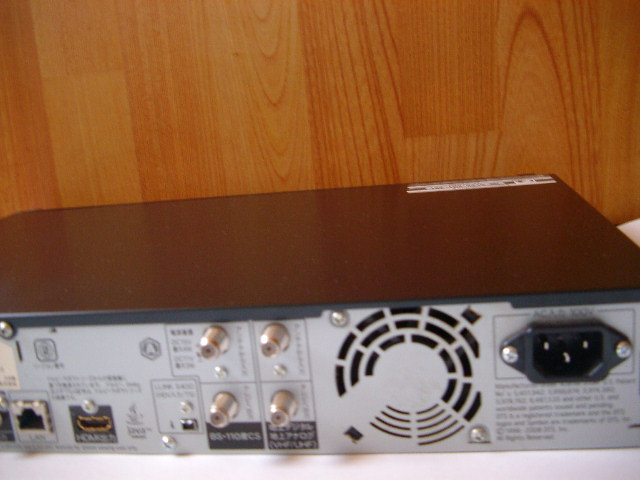 シャープ AQUOS ブルーレイレコーダー BD-HDW55 500GB 2チューナー 2010年製_画像5