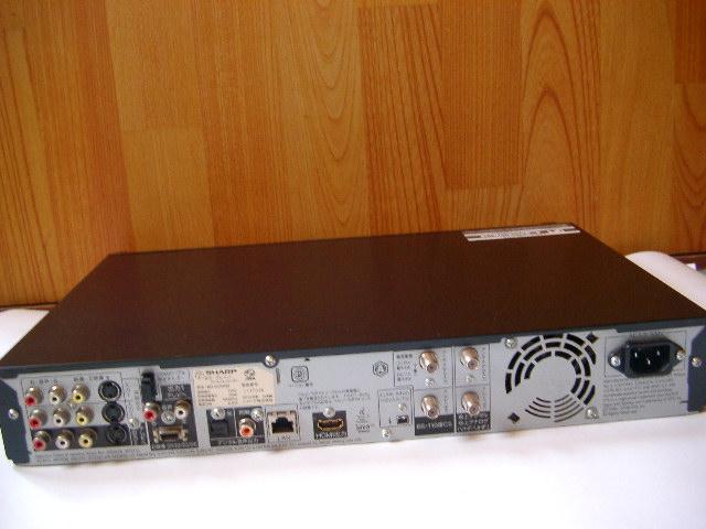 シャープ AQUOS ブルーレイレコーダー BD-HDW55 500GB 2チューナー 2010年製_画像4