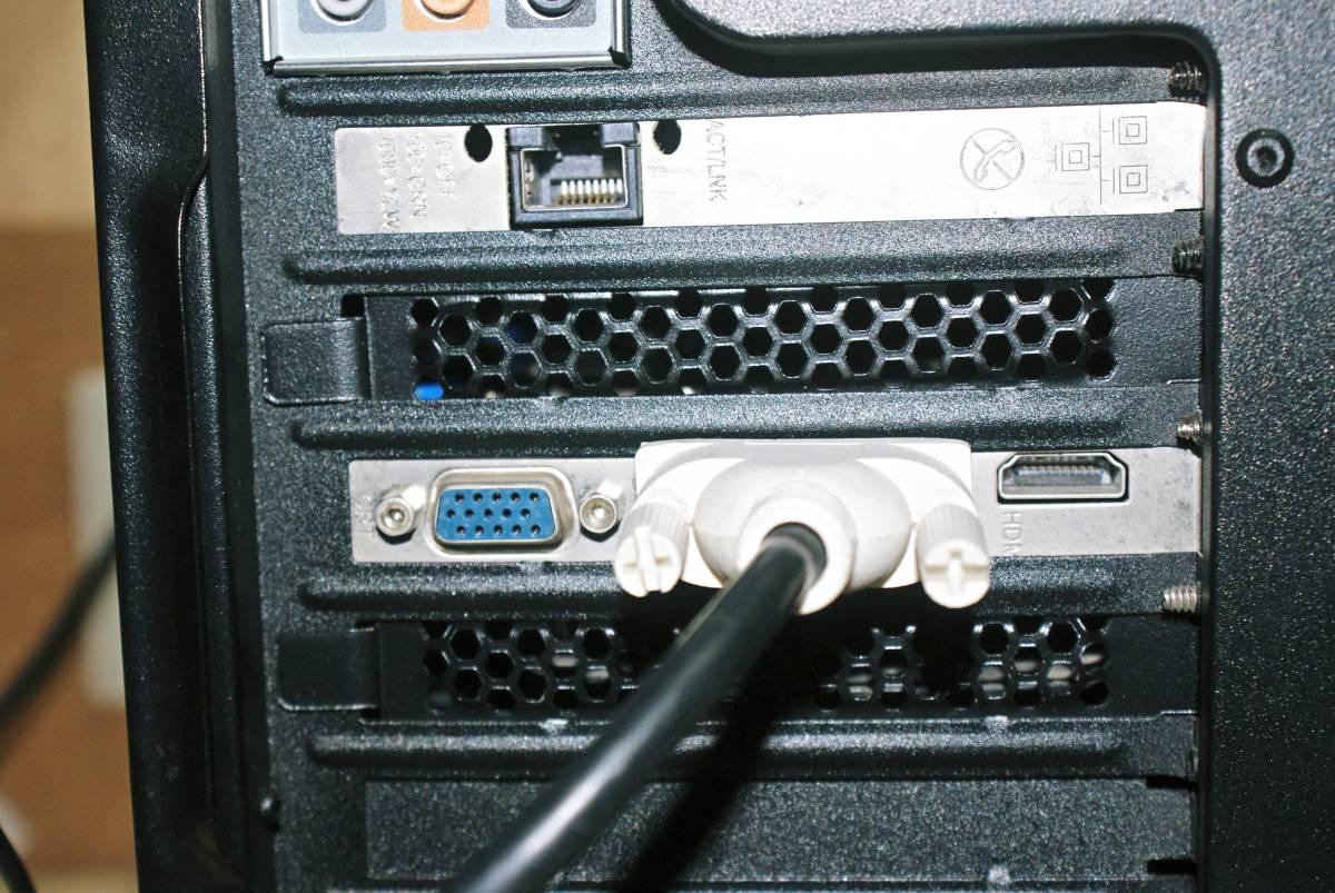 ★自作PC★AMD メモリー 8GB/SSD128GB+HDD1.5TB/HD6770//Windows10/Office2010★_画像9