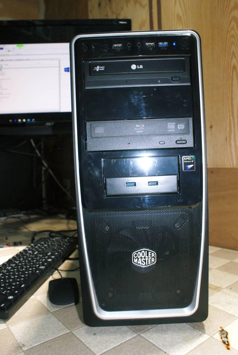 ★自作PC★AMD メモリー 8GB/SSD128GB+HDD1.5TB/HD6770//Windows10/Office2010★_画像2