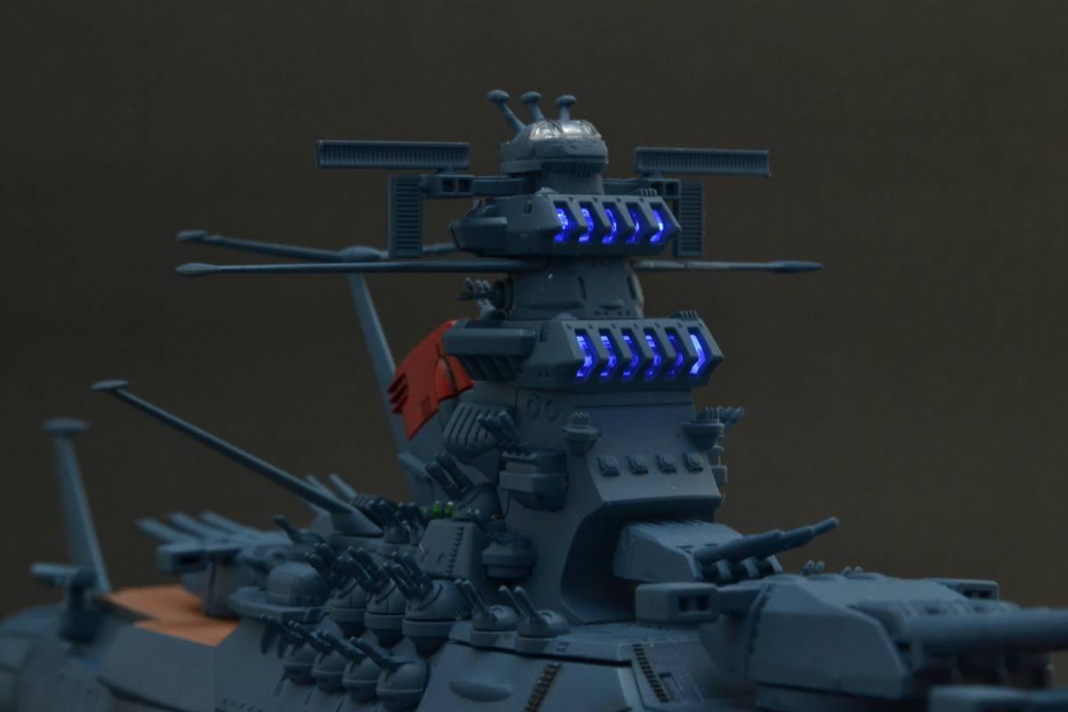 バンダイ1/1000宇宙戦艦ヤマト2202電飾塗装完成品(宇宙戦艦ヤマト)_画像5