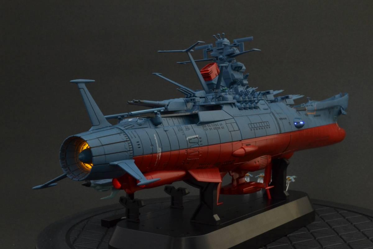 バンダイ1/1000宇宙戦艦ヤマト2202電飾塗装完成品(宇宙戦艦ヤマト)_画像6