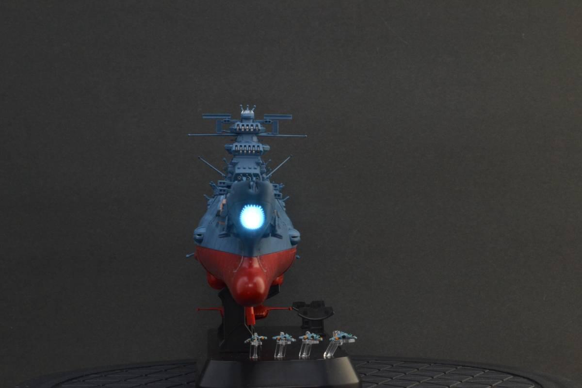 バンダイ1/1000宇宙戦艦ヤマト2202電飾塗装完成品(宇宙戦艦ヤマト)_画像7