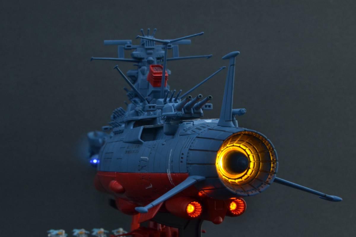 バンダイ1/1000宇宙戦艦ヤマト2202電飾塗装完成品(宇宙戦艦ヤマト)_画像10