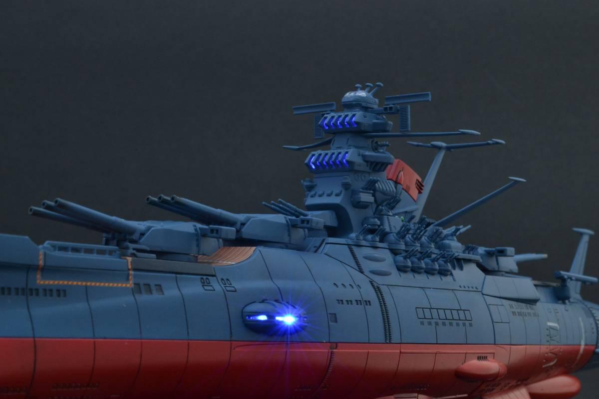 バンダイ1/1000宇宙戦艦ヤマト2202電飾塗装完成品(宇宙戦艦ヤマト)_画像9