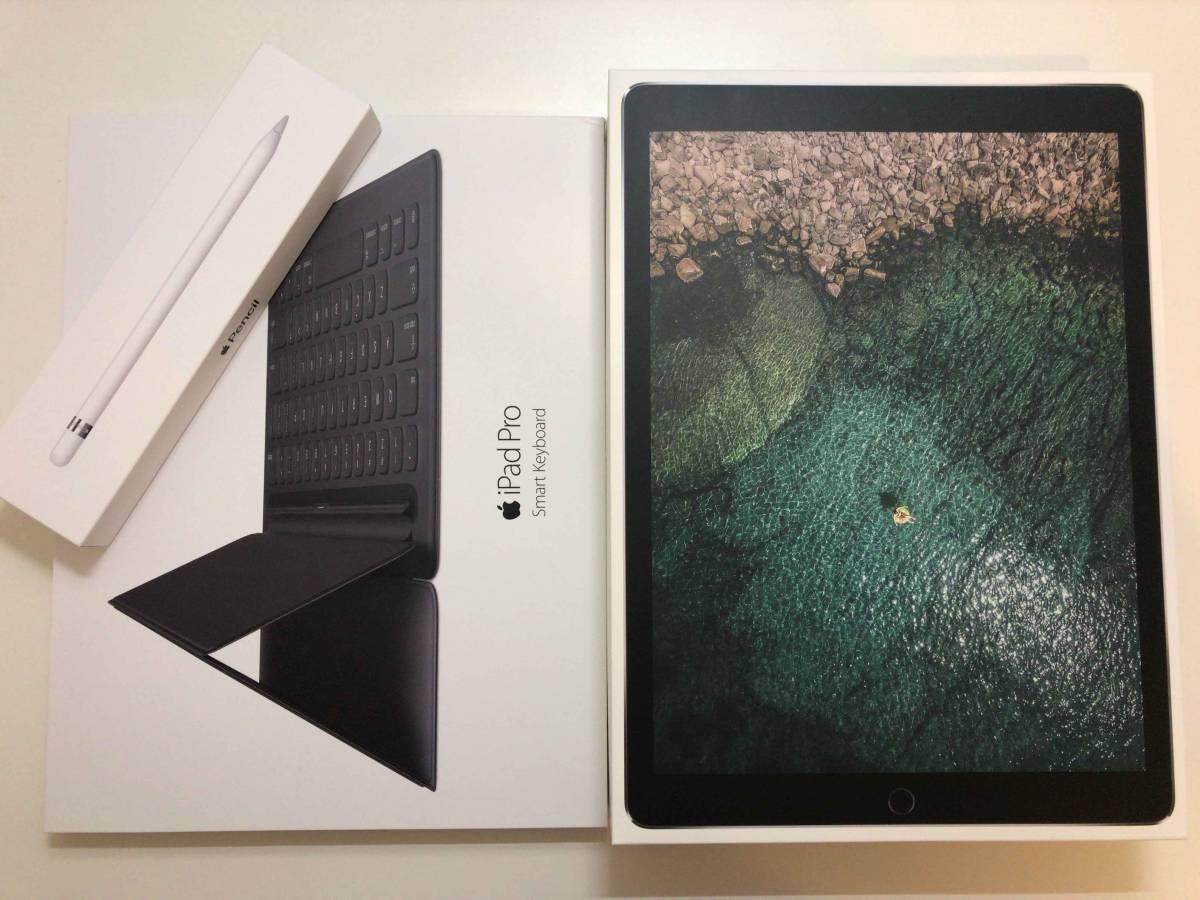 iPad Pro 12.9 Wi-Fiモデル 64GB MQDA2J/A スペースグレイ フルセット