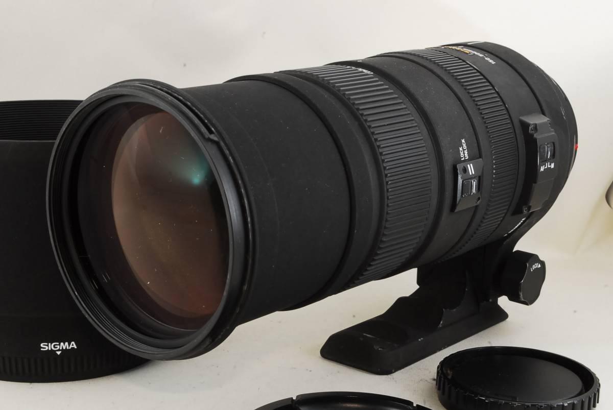 ★現状品★ソニー SIGMA APO DG 150-500mm F5-6.3 HSM ミノルタ ソニー♯777