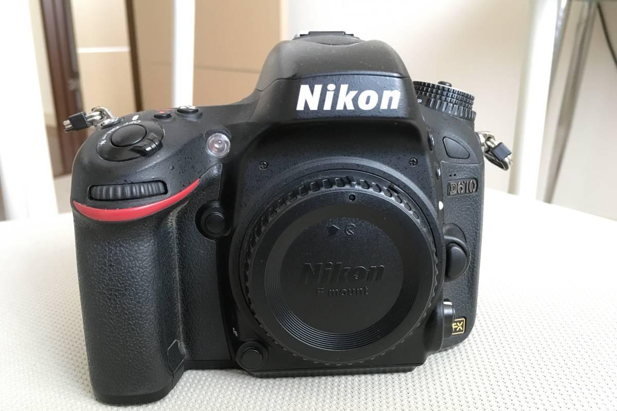 NIKON ニコン D610 ボデイのみ 非常に綺麗 ほとんど室内ポートレート使用のみ 新品同様