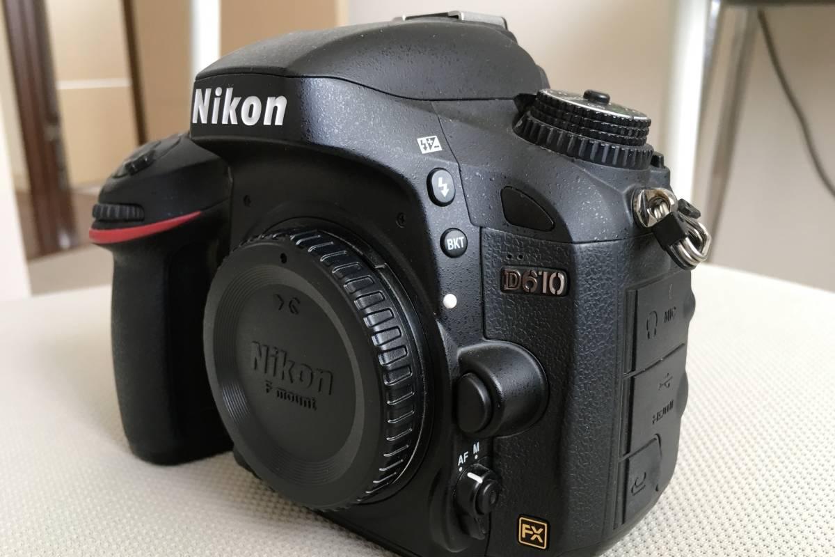 NIKON ニコン D610 ボデイのみ 非常に綺麗 ほとんど室内ポートレート使用のみ 新品同様  _画像4