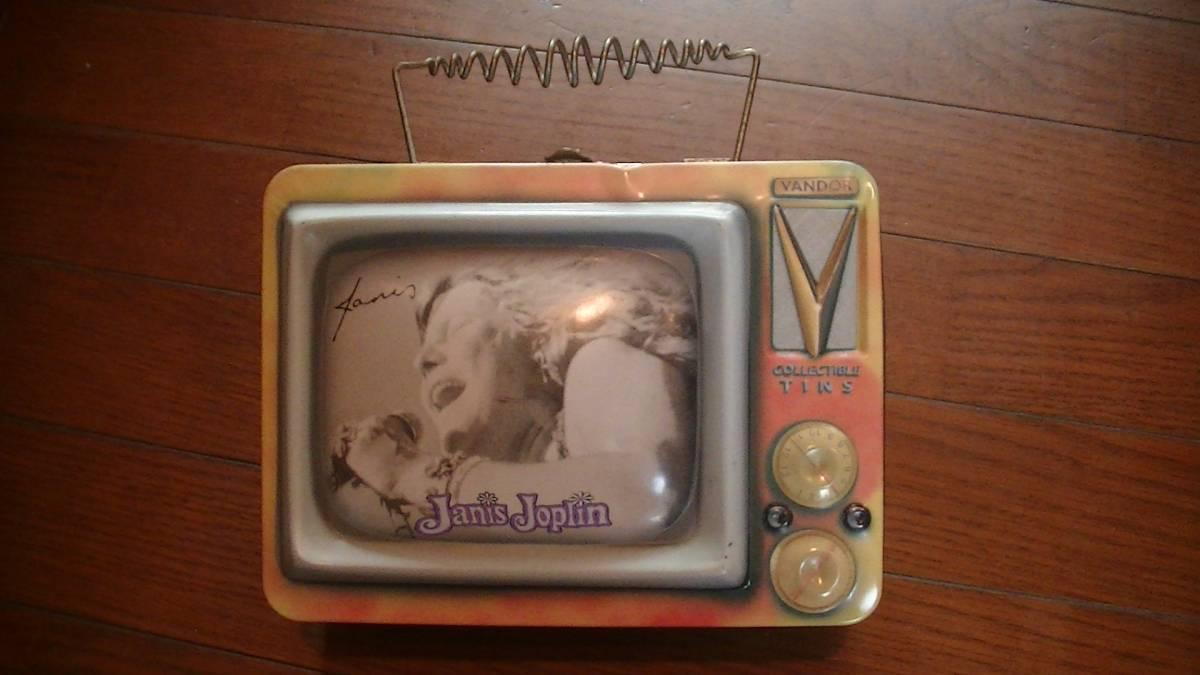 ジャニス・ジョプリン テレビ型缶バッグ バック ジョップリン