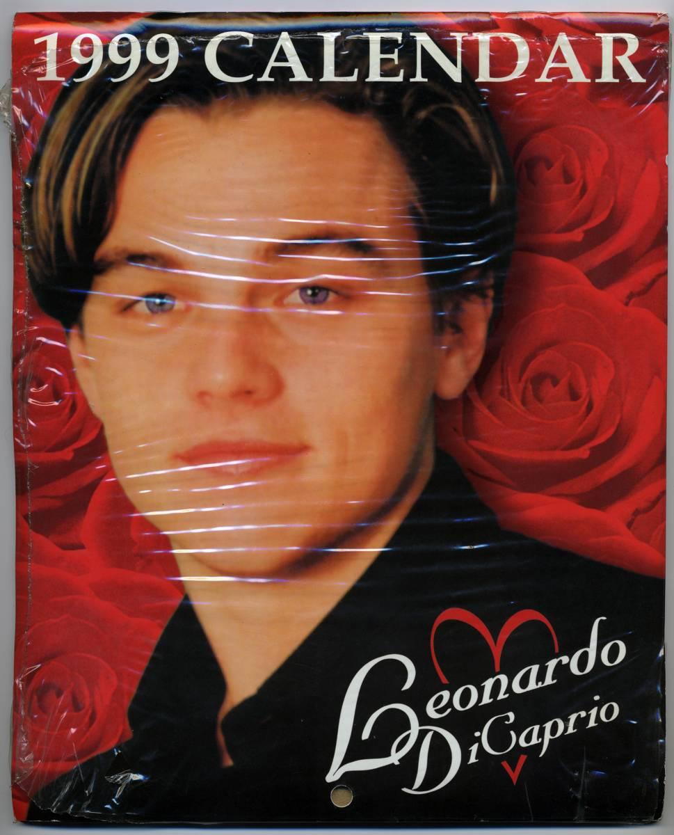 未開封 ★レオナルド・ディカプリオ Leonardo Dicaprio 1999 カレンダ- ★ デッ トストック!!