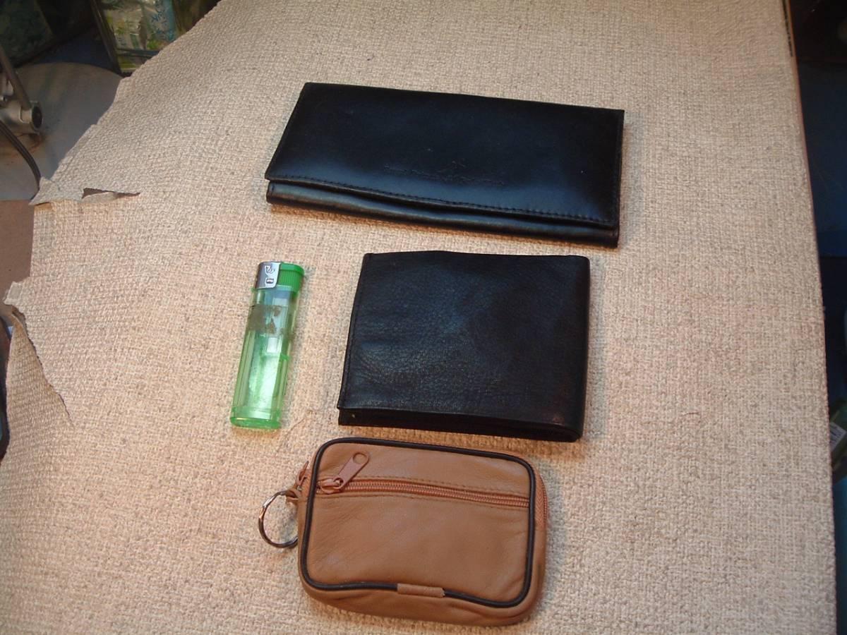19-1-32  男性用財布、収納トートーパック、その他①-⑩それぞれ1セットのお値段です。_⑧