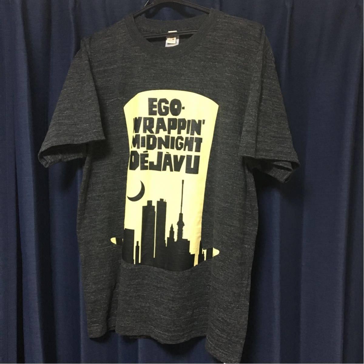 新品 未着用! EGO-WRAPPIN' Midnight Dejave t-shirt Lサイズ 2017 ヘーゼルグレイ