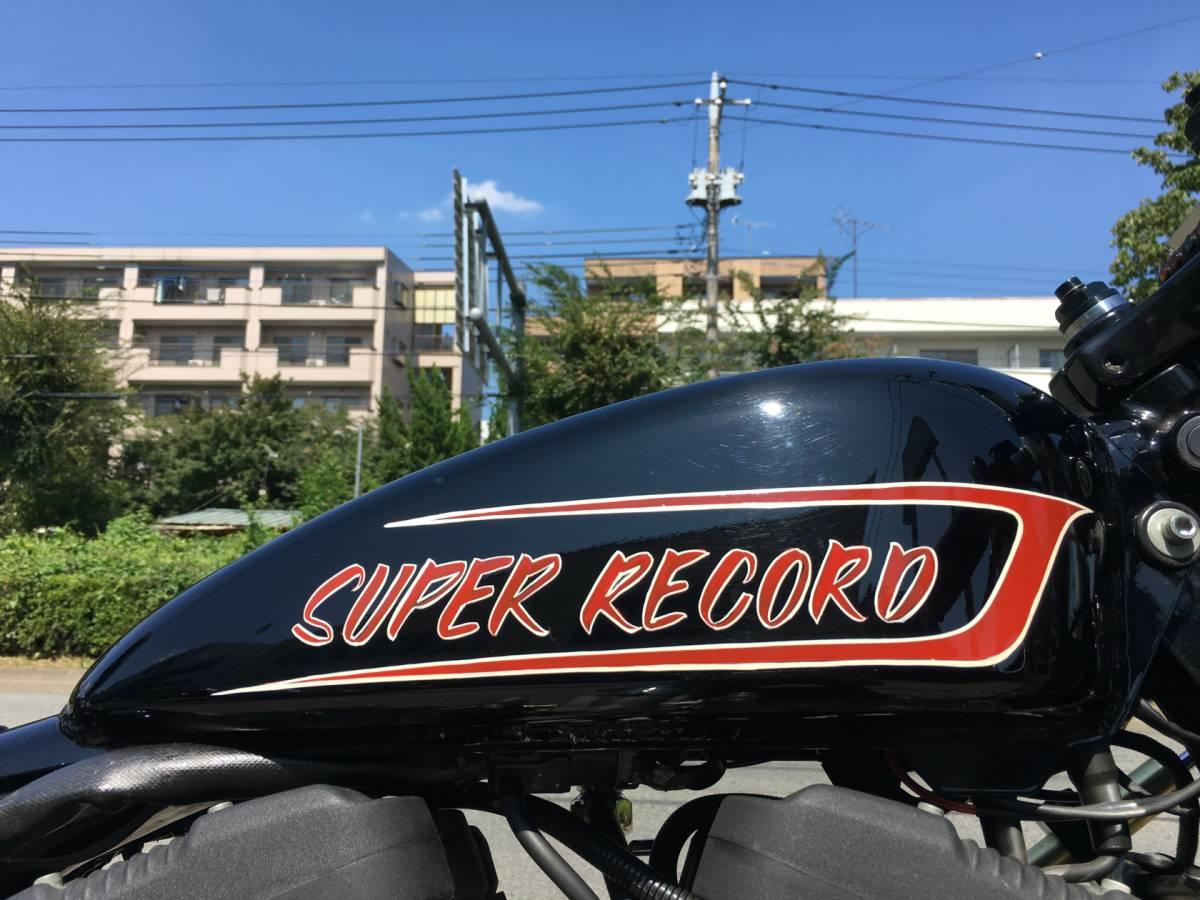 2006 XL1200R マガジンピック受賞バイク カフェレーサー フルカスタム ローン可 低走行 1年間走行距離無制限レッカーサービス付き_アルミ製のワンオフタンク
