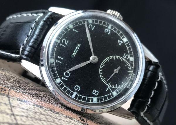 極上品【オメガ☆ミリタリー】アンティーク ヴィンテージ Cal.265 手巻き メンズ腕時計
