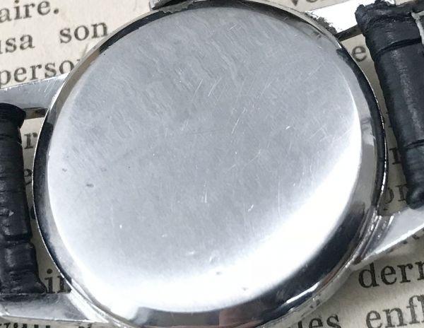 極上品【オメガ☆ミリタリー】アンティーク ヴィンテージ Cal.265 手巻き メンズ腕時計_画像7