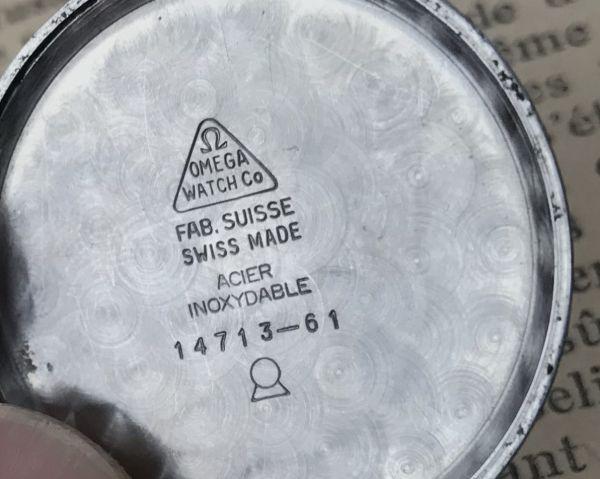 極上品【オメガ☆ミリタリー】アンティーク ヴィンテージ Cal.265 手巻き メンズ腕時計_画像9