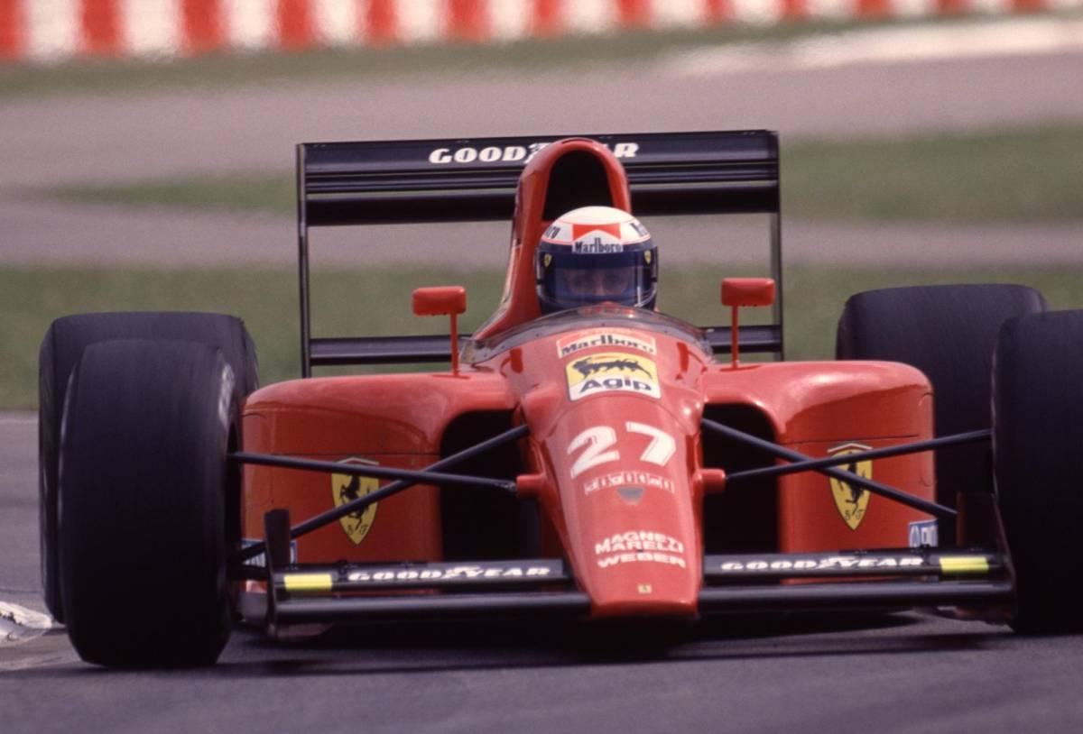 アラン・プロスト A4判写真1枚 F1 ⑨