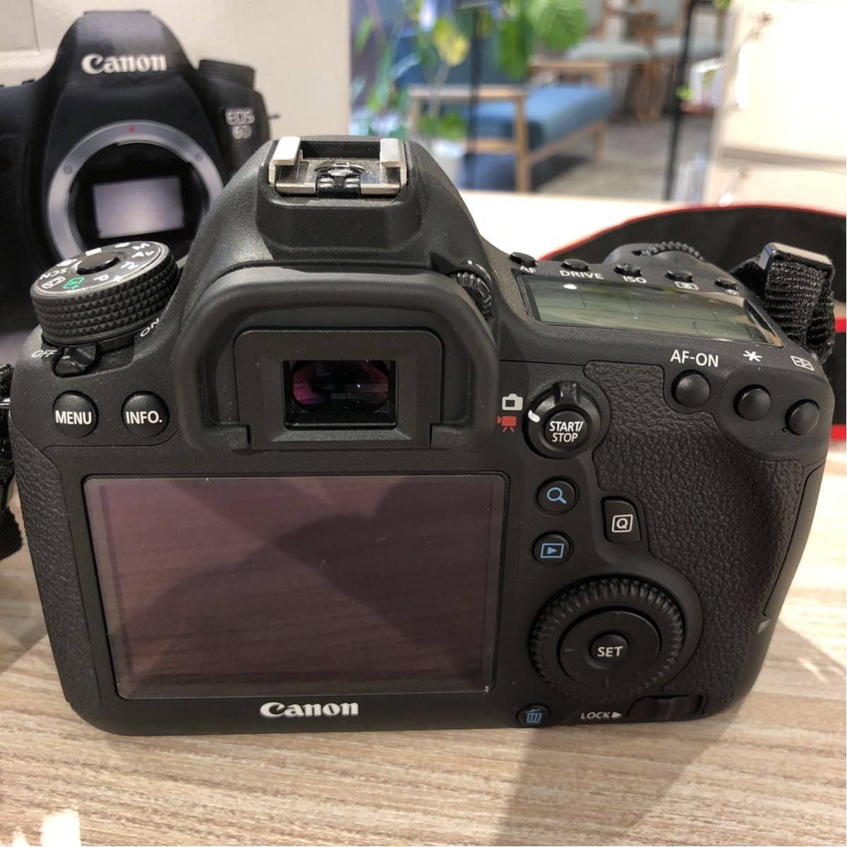 Canon キャノン 一眼レフ フルサイズ 6D ボディ 付属品完備_画像2
