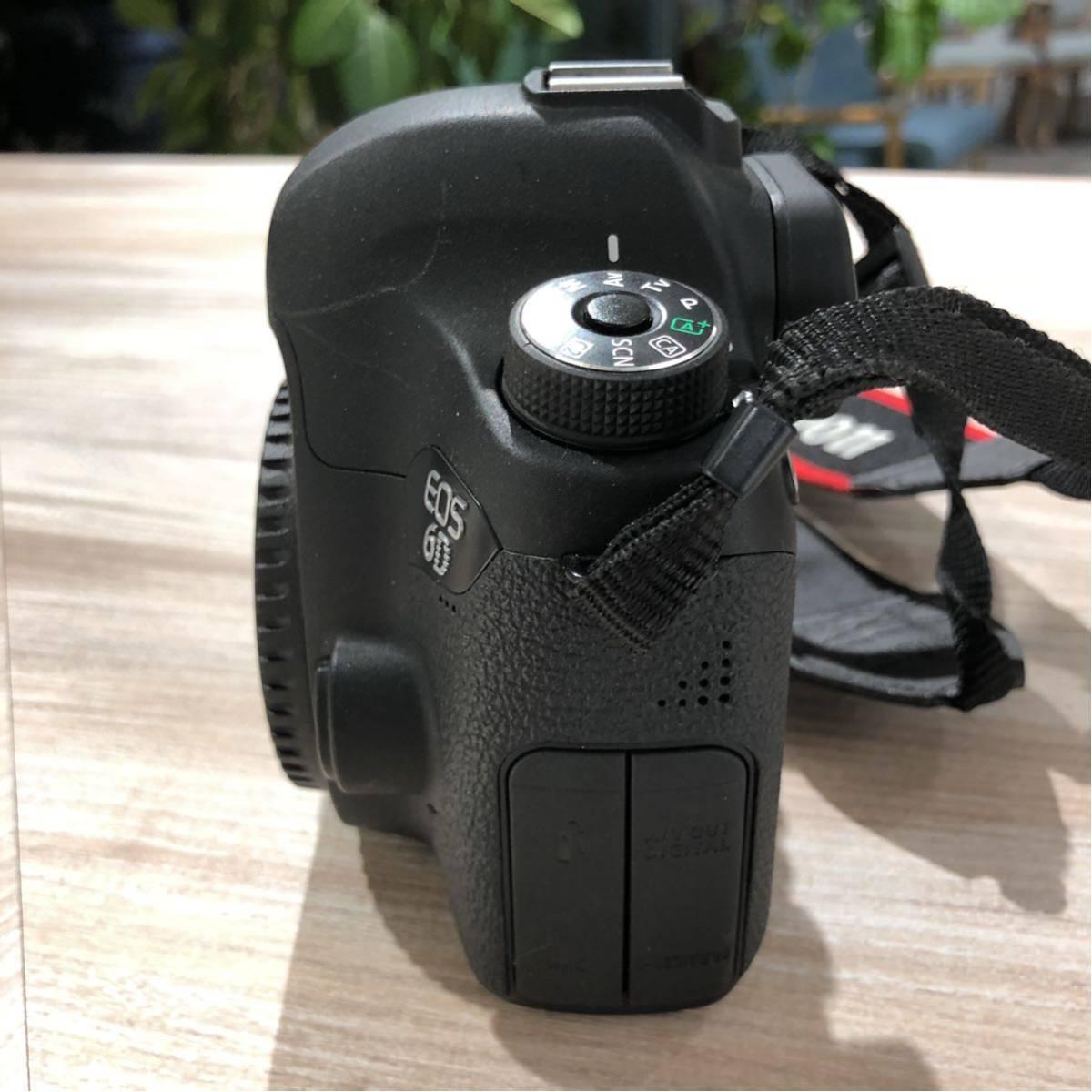 Canon キャノン 一眼レフ フルサイズ 6D ボディ 付属品完備_画像7