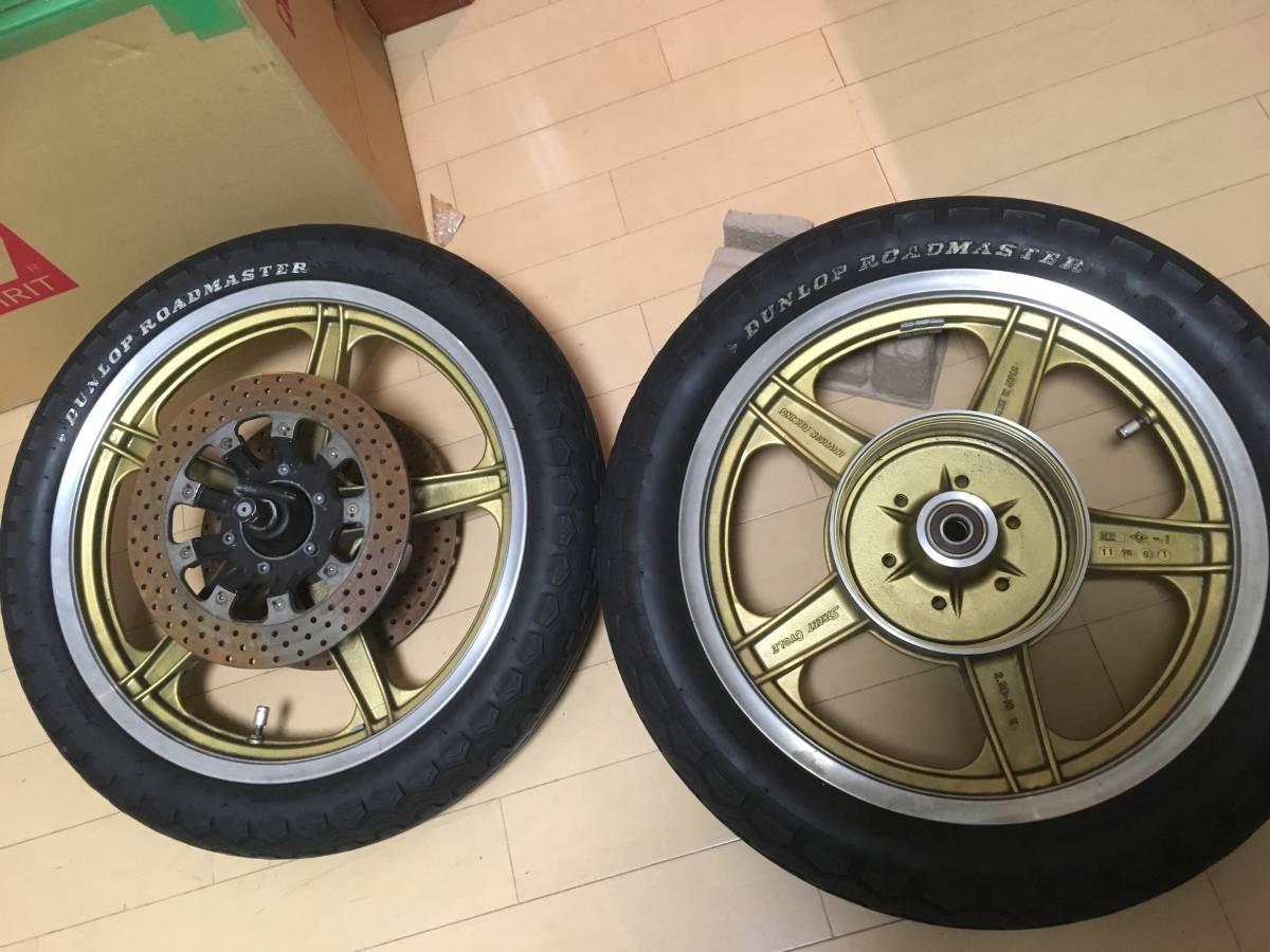 Z1Z2/750RS 当時物 ☆ハヤシレーシングキャストホイールセット☆