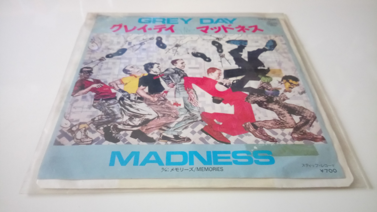 激レア 日本盤 シングル MADNESS GREY DAY / MEMORIES ビクター音楽産業株式会社 VIPX-1581 見本盤
