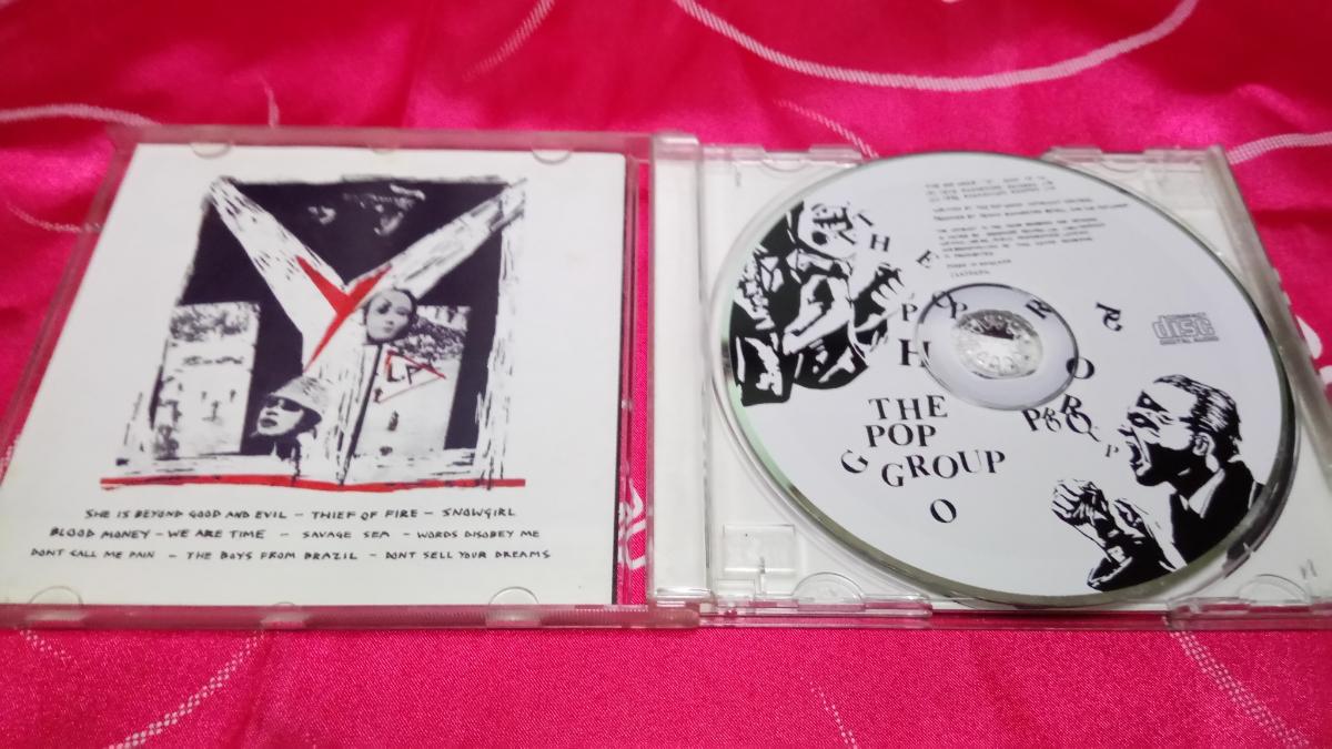 激レア 初回盤 CD pop group / Y RADAR RECORDS SCAN CD 14 1996年 PIL SLITS