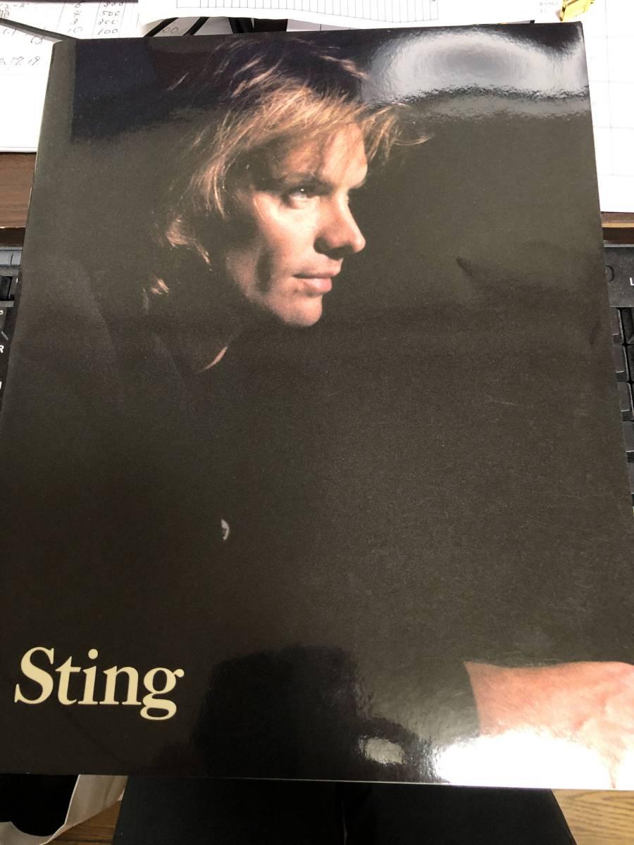 スティング Sting '87~'88 ツアーパンフレット NOTHING LIKE THE SUN WORLD TOUR IN JAPAN