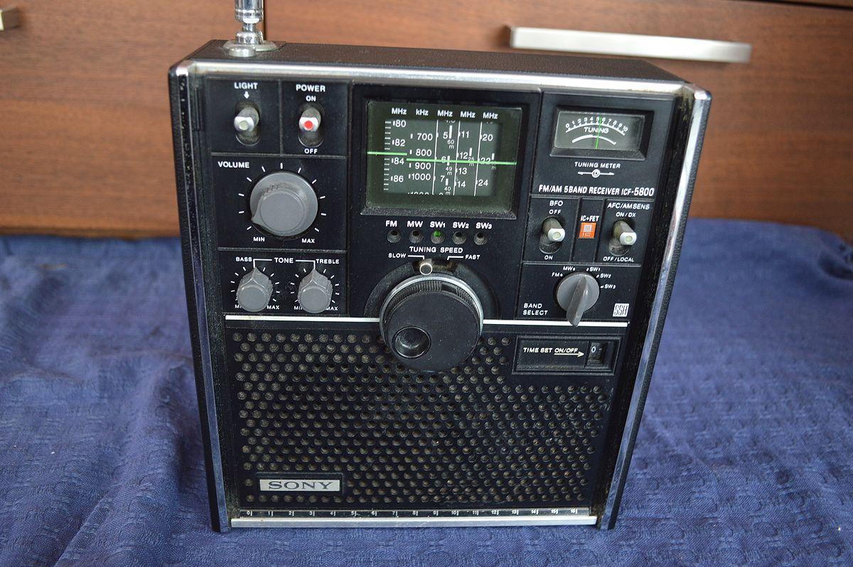 ソニー SONY スカイセンサー ICF-5800 ラジオ