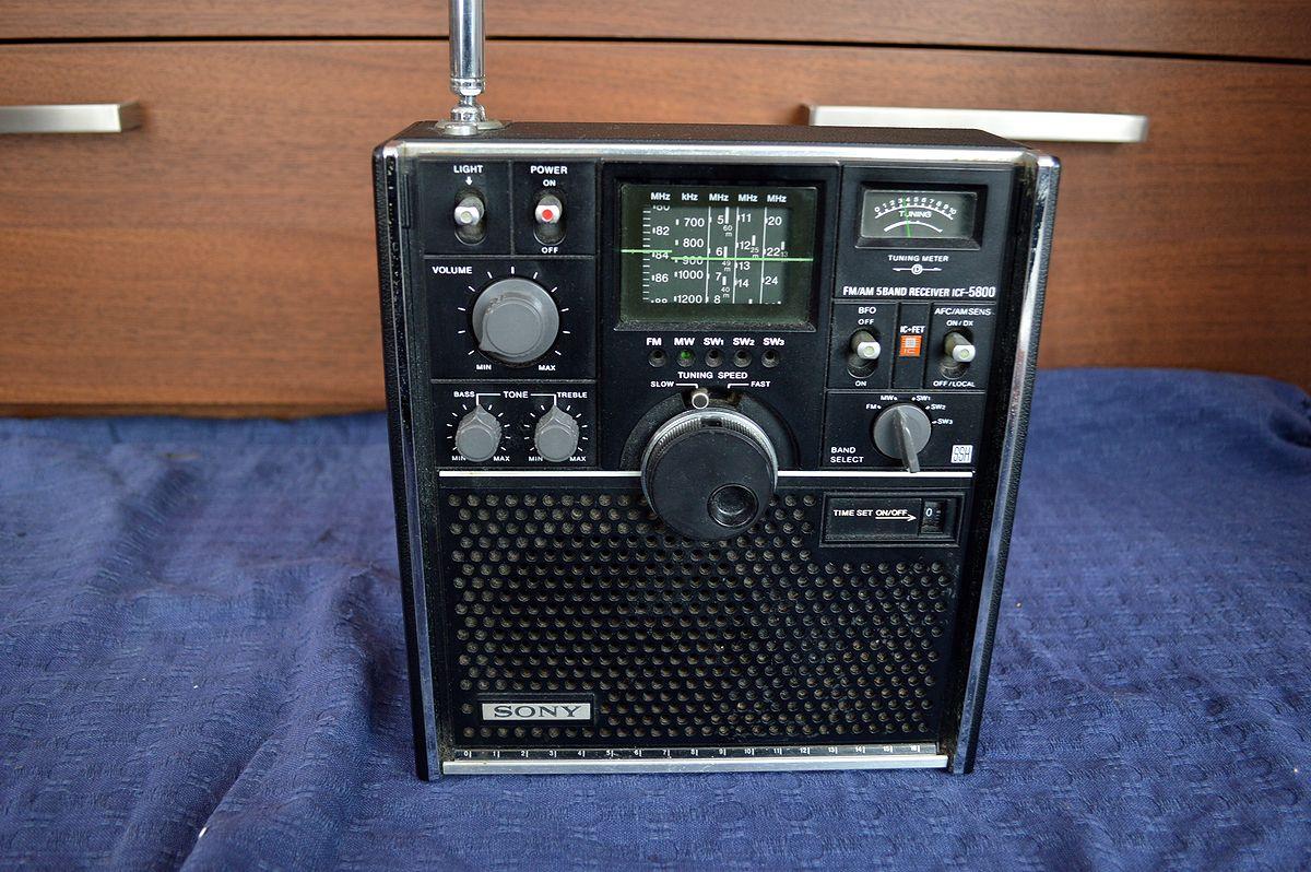 ソニー SONY スカイセンサー ICF-5800 ラジオ_画像2
