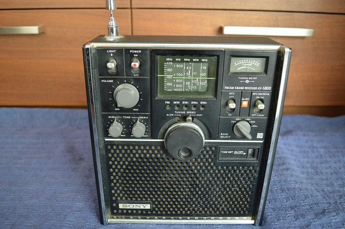 ソニー SONY スカイセンサー ICF-5800 ラジオ_画像3