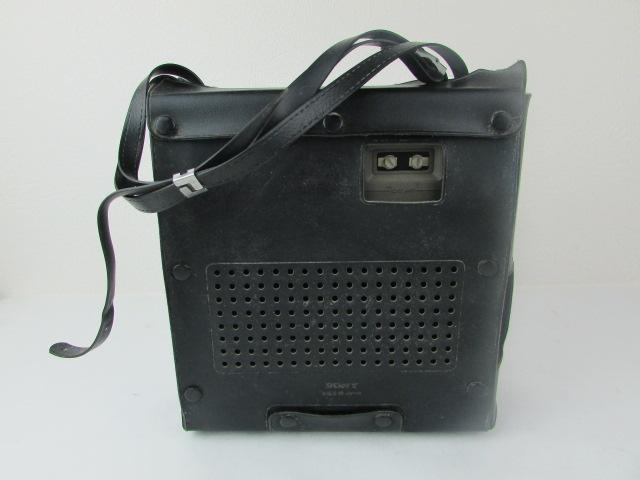 ジャンク・希少・SONY・BCL・ラジオ・スカイセンサー・黒革ケース付・ICF・5900・作動未確認_画像3