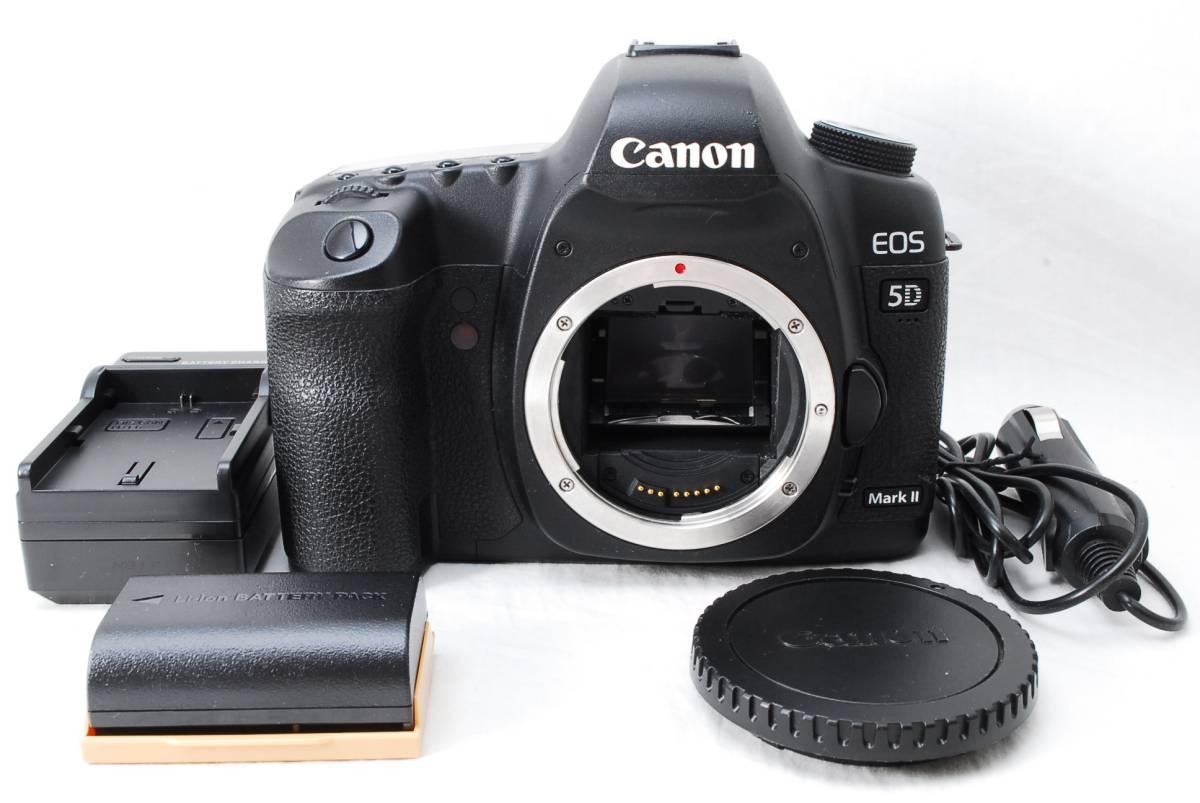 ★外観極上美品★ Canon キャノン EOS 5D Mark II ボディ 即決送料無料♪