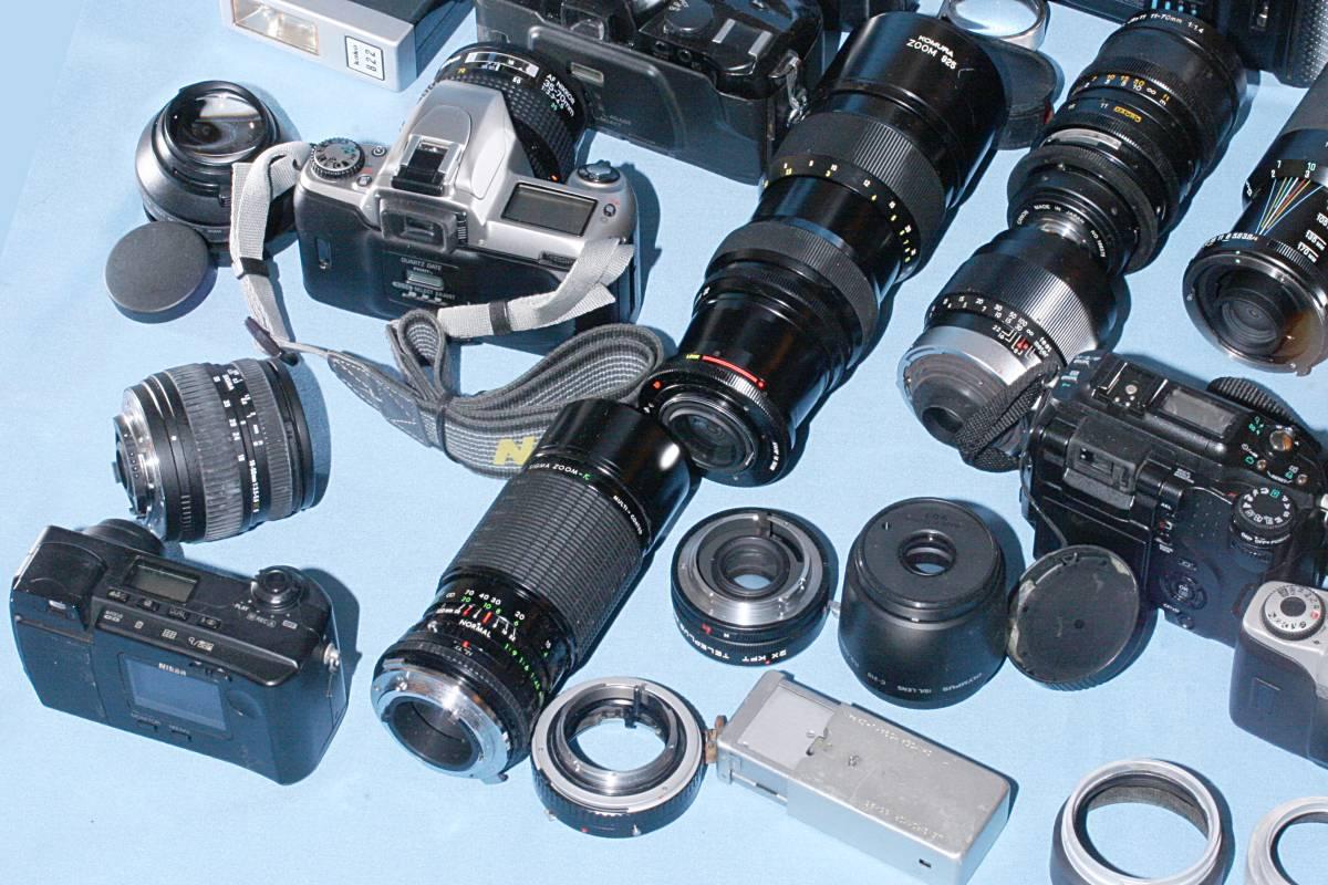 一眼レフカメラ デジタル カメラ 交換レンズ ストロボ 露出計 Minolta16 他 まとめて 多数 大量 セット 色々 ジャンク j_画像7